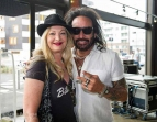 Cat Swinton & Marco Mendoza From the Dead Daisies