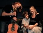 Dave Gleeson, Aaron & Cat at Alberts Studios