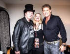 Doc Neeson, Cat Swinton & David Hasselhoff