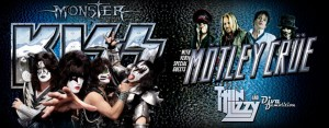 Kiss, Motley Crue, Thin Lizzy & Diva Demolition - Australian Tour - Feb/March 2013