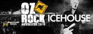 Down Under Events Presents Oz Rock Busselton 2015 - Featuring ICEHOUSE