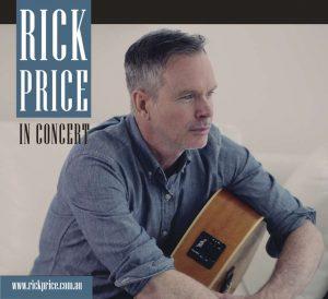 Rick Price - Touring Australia In 2014