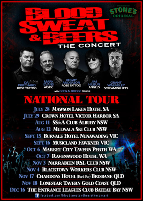 Blood Sweat & Beers - National Tour